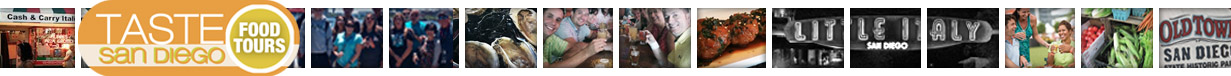 Taste San Diego Food Tours header